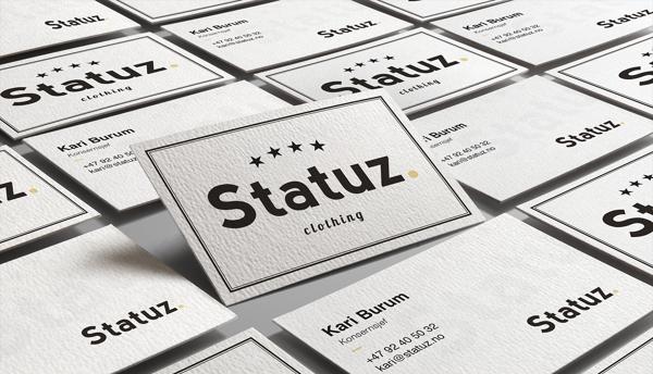 Statuz. Branding Business Card