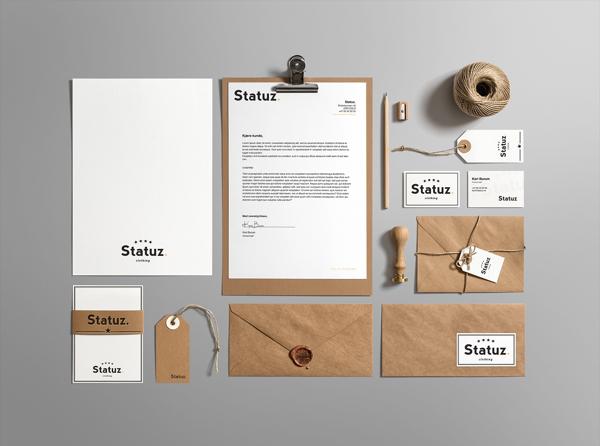 Statuz. Branding Stationery