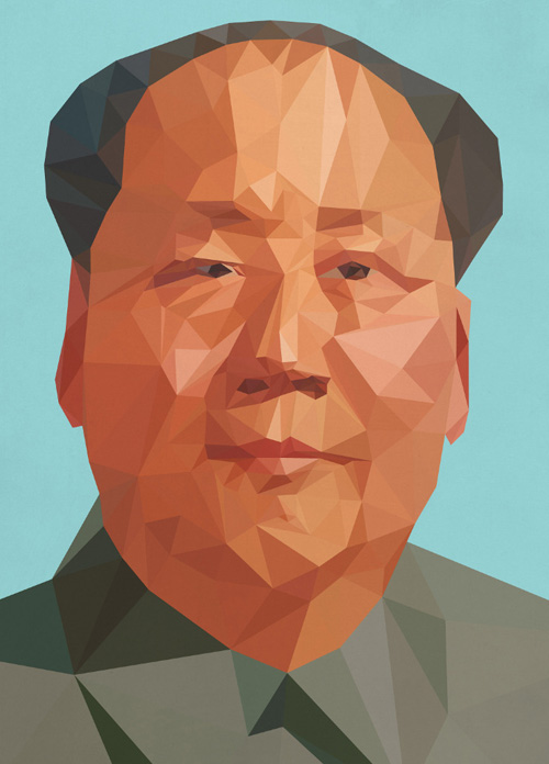 Low-Poly Portrait Illustrations for Inspiration - 23