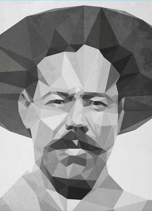 Low-Poly Portrait Illustrations for Inspiration - 24