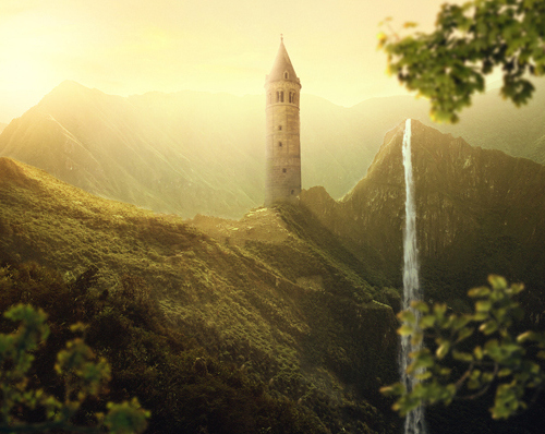 Create a Beautiful Sunrise Landscape Photo Manipulation Tutorial