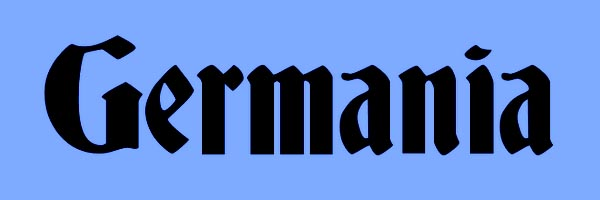 Germania Font Free Download