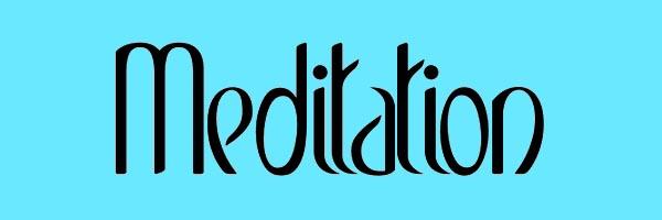 Meditation Font Free Download