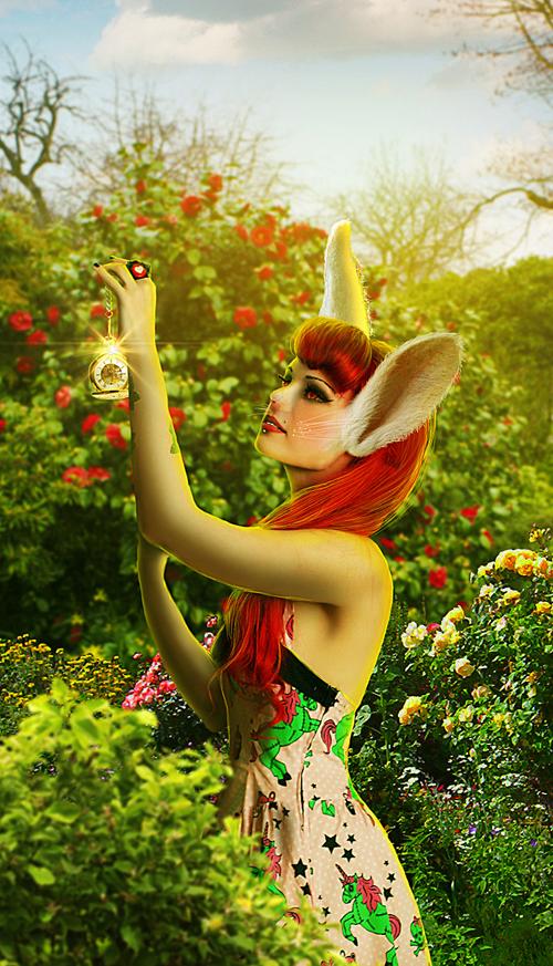 Create Photo Manipulation with Alice in Wonderland Theme in Photoshop