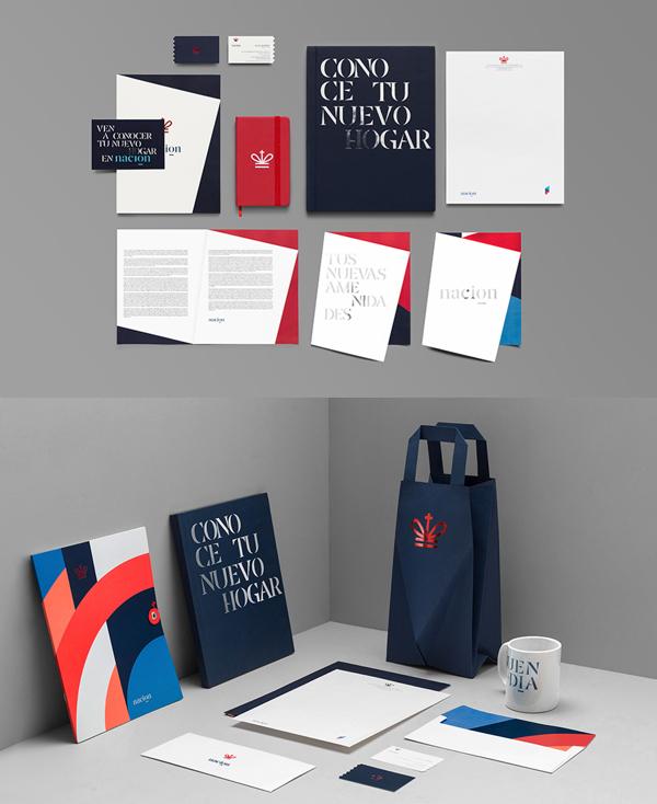 Nacion Branding Stationery