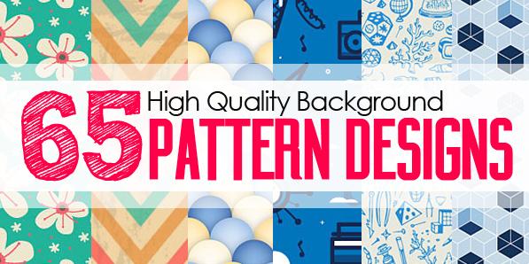Background Pattern Designs: 65 Seamless Patterns For Websites Background