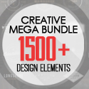 Post thumbnail of Most Creative Mega Bundle with 1500+ Design Elements
