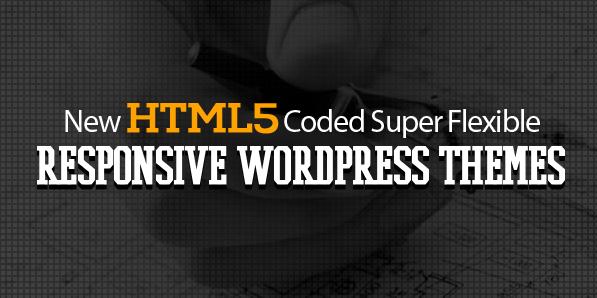 13 New HTML5 Coded Super Flexible Responsive WordPress Themes