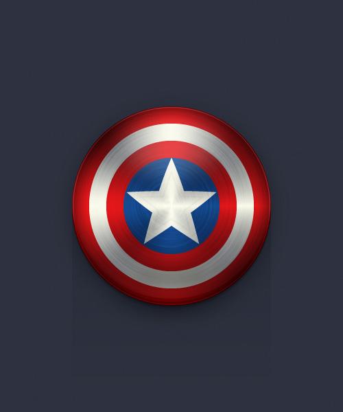 Create the Captain America Shield Icon in Adobe Illustrator