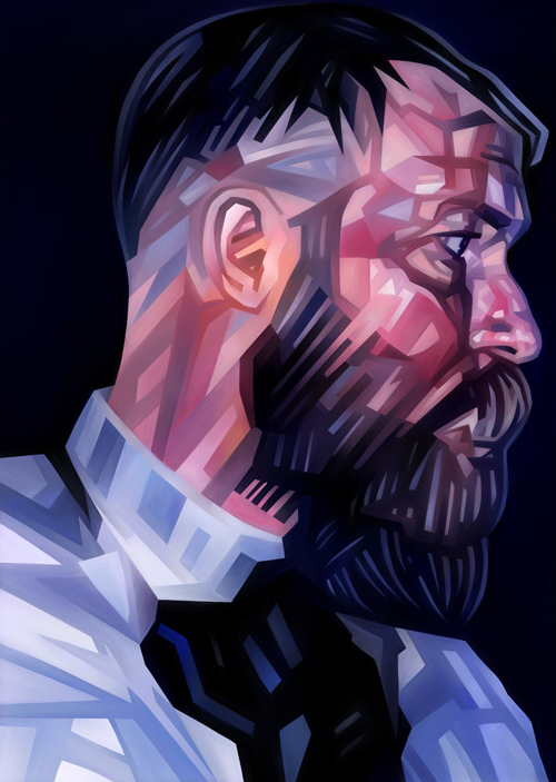 John Balance Portrait Illustration