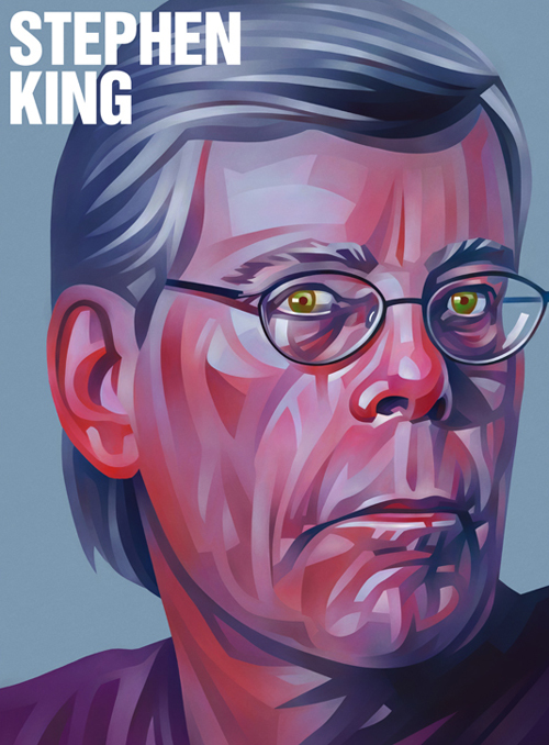 Stephen King Portrait Illustration