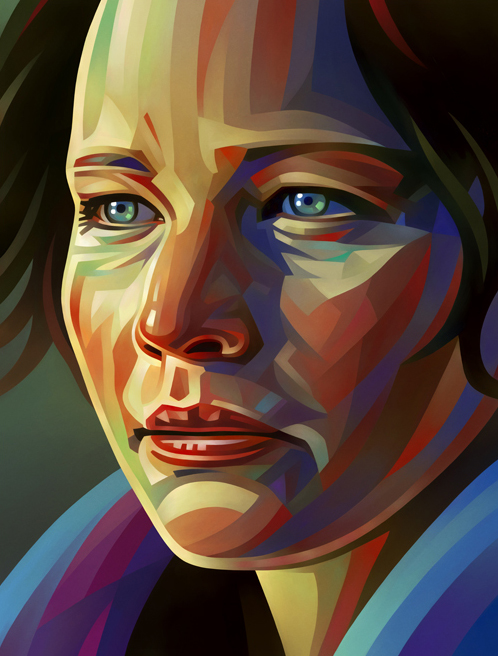 Jannifer Lawrence Portrait Illustration