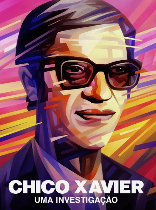 Chico Xavier Portrait Illustration