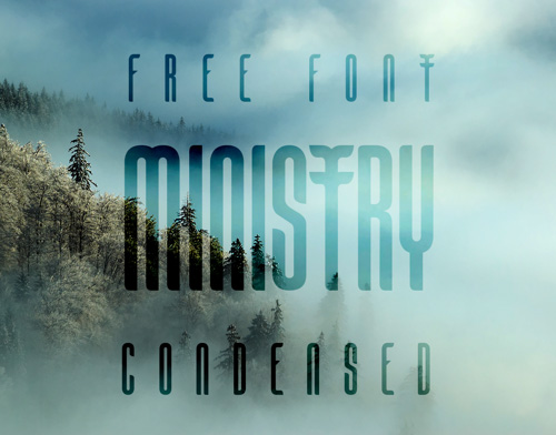 Ministry Free Fonts