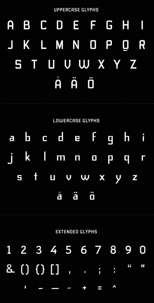 Stig Font Free Download