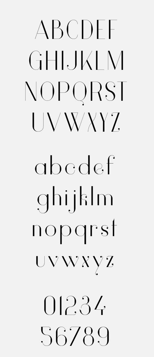Vanity Font Free Download