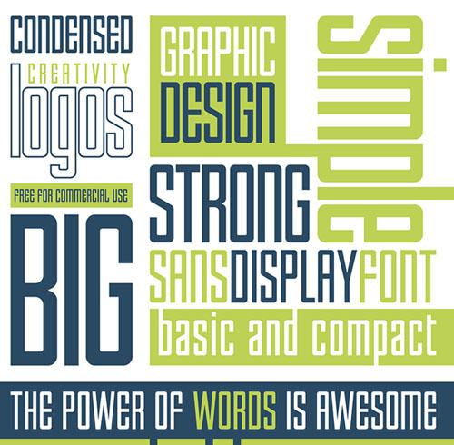 Enfatica Typeface Font Free Download