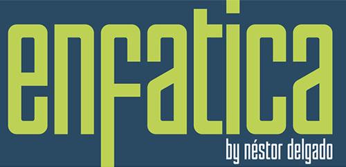 Enfatica Typeface free font for designers