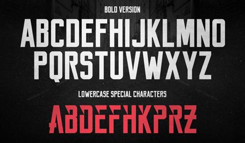 Reckoner Free Typeface