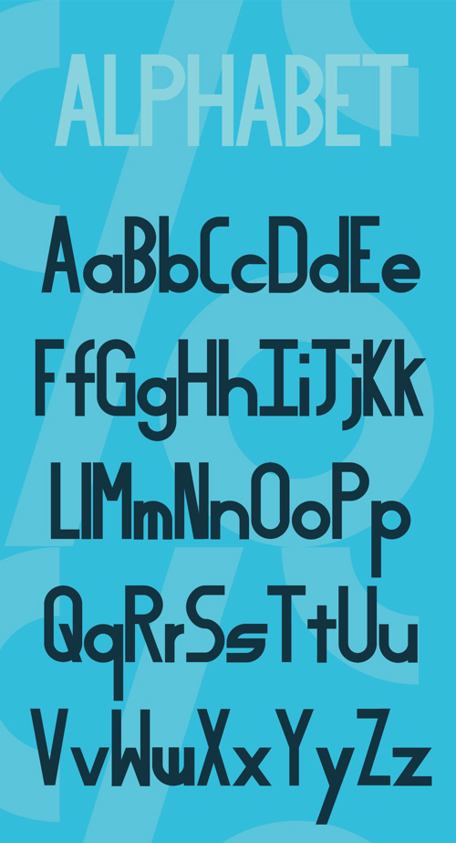 Equal Free Typeface