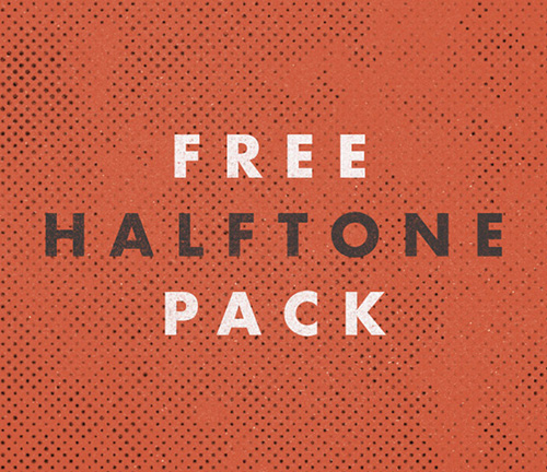 Halftone Pack PSD PSD files