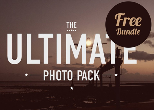 The Ultimate Photo Pack PSD files