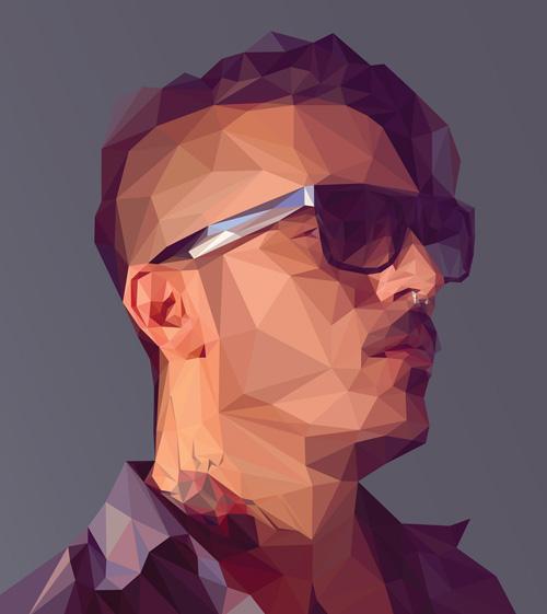 Create a Low-poly Portrait in Adobe Illustrator Tutorial