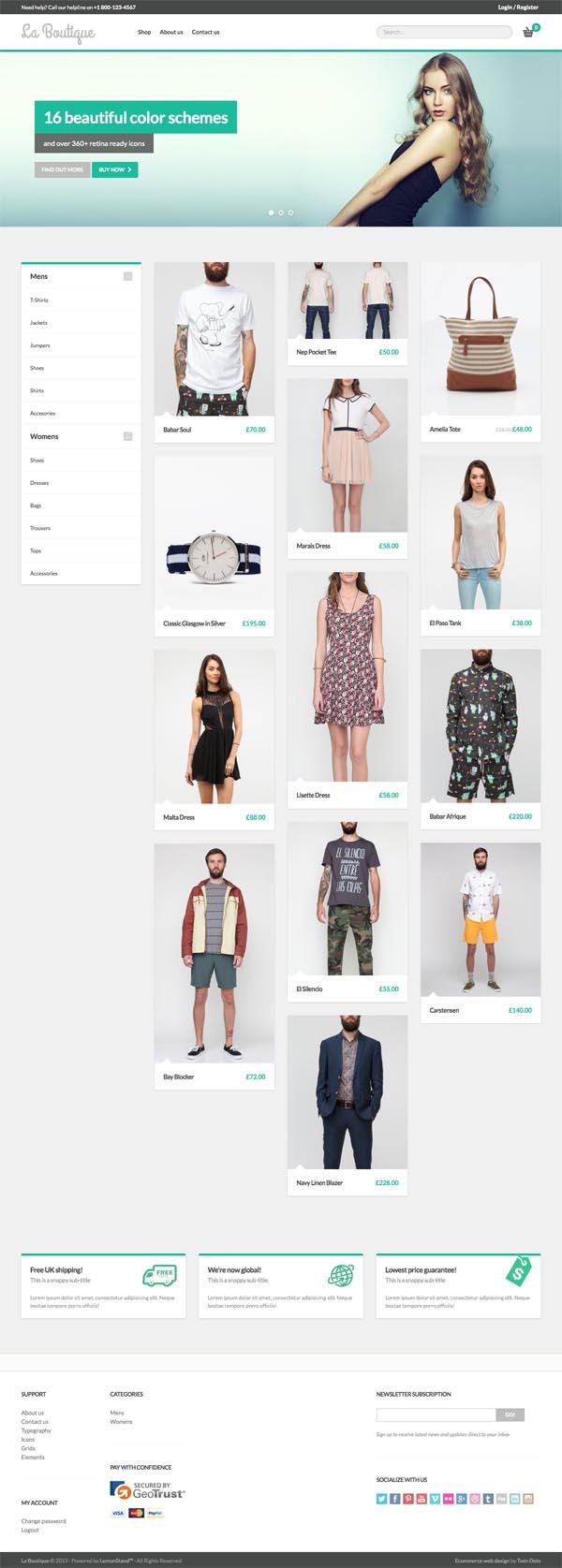 La Boutique - Multi-purpose WooCommerce Theme