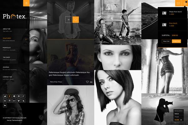 Photex - Responsive Portfolio Photography Theme