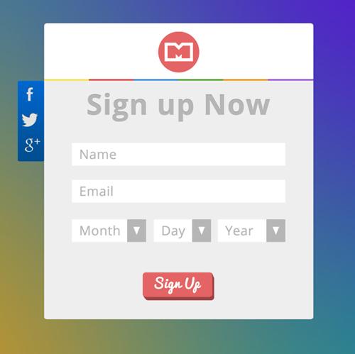 Modern Sign UP / Login Forms UI Designs-13