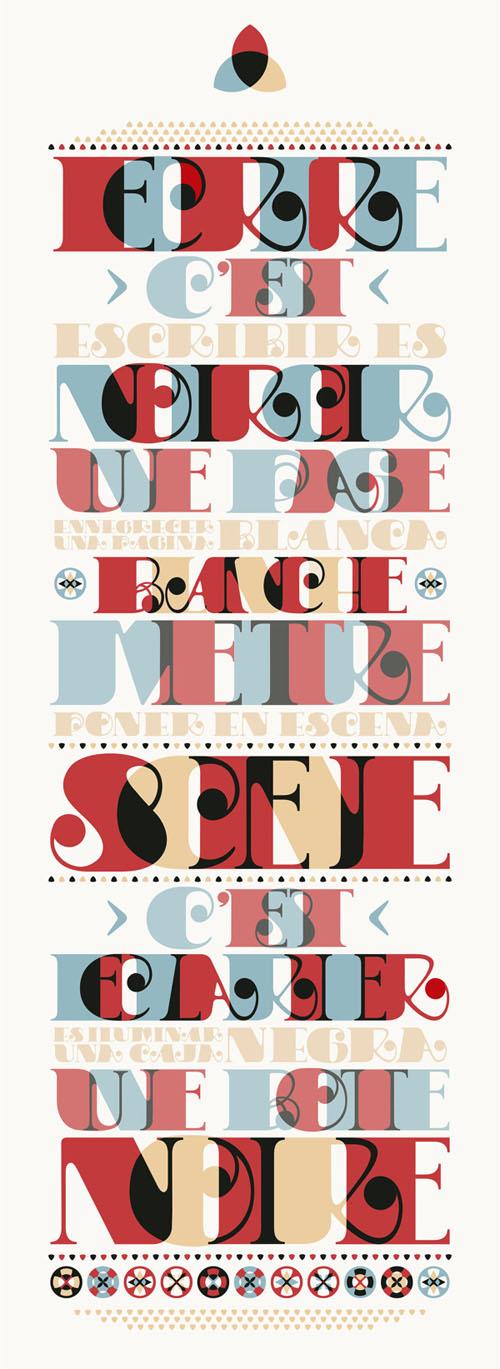 Hyperfuente · Die Puppe typography by Ali Ogilvie