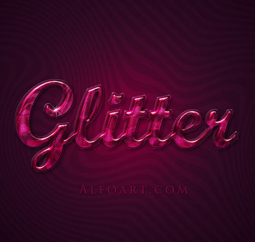 Create Extremely Glossy and Shiny Text effect in Photoshop Tutorial