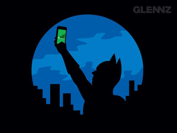 Bat Signal T-Shirt Illustrations