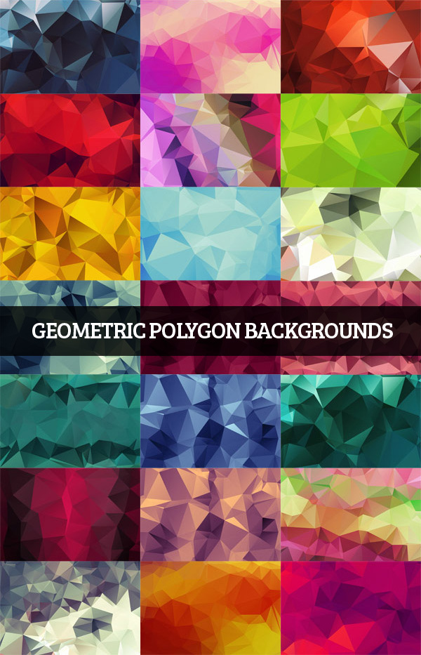 Geometric Polygon Backgrounds