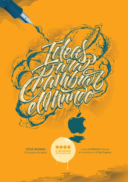 El Ser Creativo typography by Joluvian