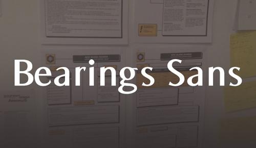 Bearings font free download