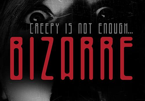 Bizarre font free download