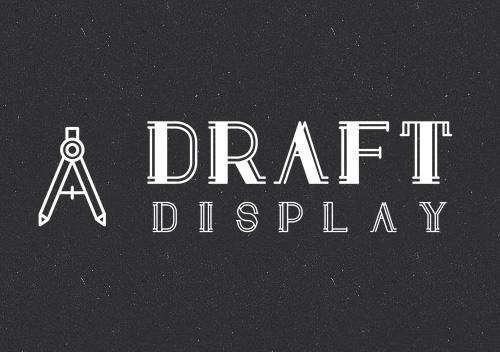 Draft Display free fonts
