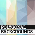 Post thumbnail of 150+ Free High-Res Low-Poly, Geometric and Polygonal Backgrounds