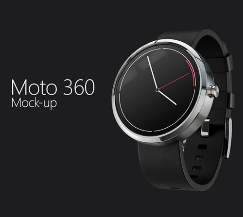 Moto 360 Mock-Up
