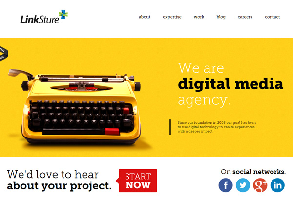 HTML5 and CSS3 Websites Design for Inspiration - 14