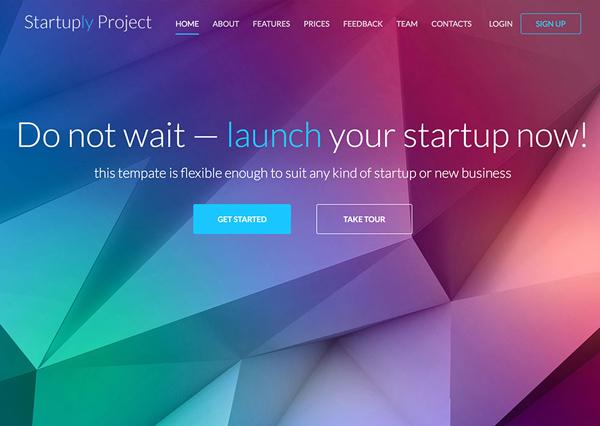 One Page Website Design - 1