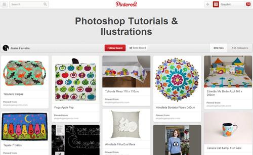 Photoshop Tutorials Pinterest Boards - 12
