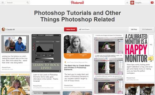Photoshop Tutorials Pinterest Boards - 13