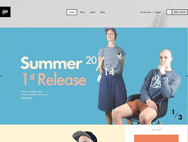 Flat Websites Design - 14