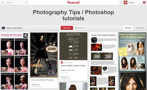 Photoshop Tutorials Pinterest Boards - 14