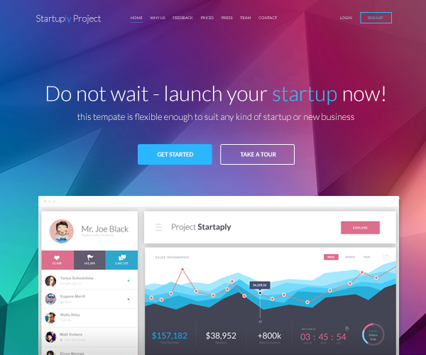Flat Websites Design - 2