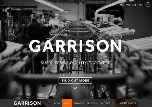 One Page Website Design - 2