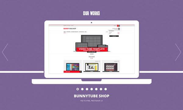 Flat Websites Design - 23