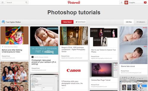 Photoshop Tutorials Pinterest Boards - 24